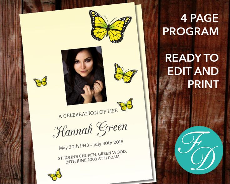 246 best Funeral Programs for Women Programs \ Prayer Cards - celebration of life templates