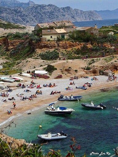 Calanque de Callelongue, Marseille - France