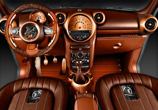 steampunk images | ... tout fraichement de son garage, une Mini Cooper en mode Steampunk