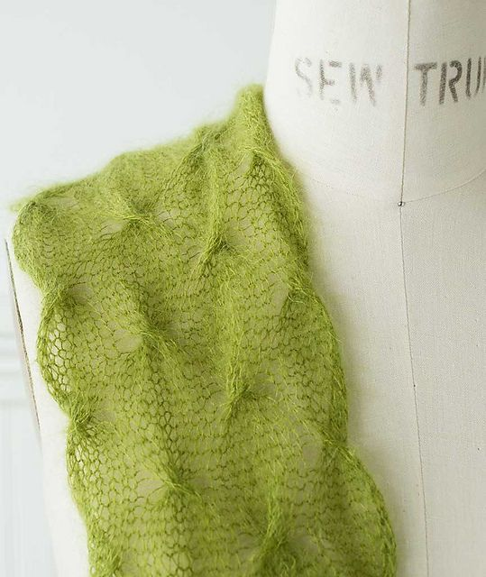 Ravelry: Spin Stitch Scarf & Wrap pattern by Churchmouse Yarns and Teas ...