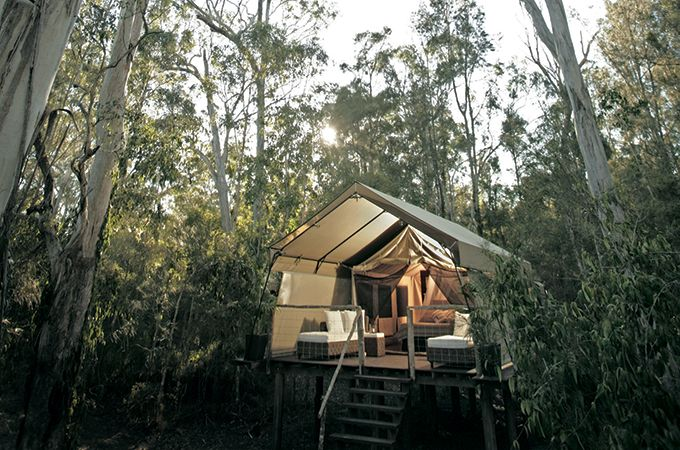 Paperbark Camp offers total seclusion