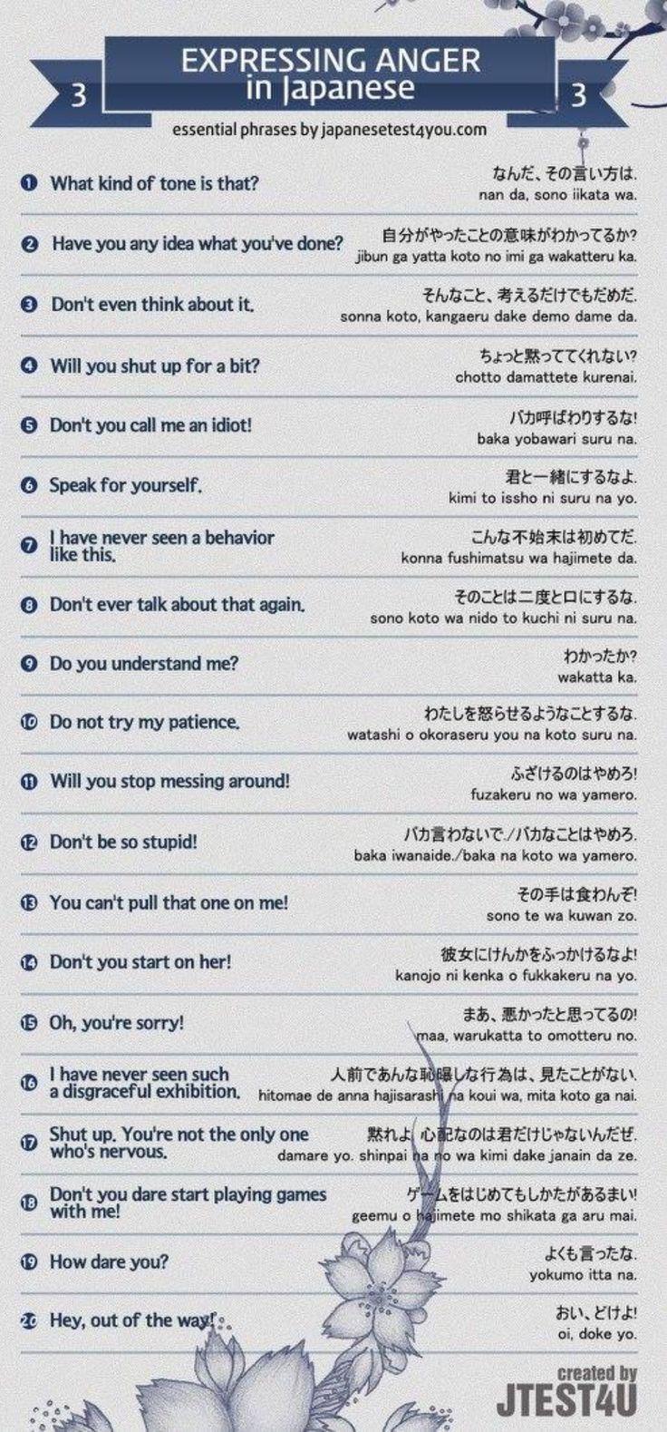 Expressing Anger - Studies Abroad in Japan. GoldenWay Global Education VietNam Du hoc nhat ban  http://goldenway.edu.vn/du-hoc-nhat-ban-2.html