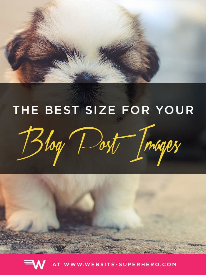 Learn all about the best size for blog images, plus how (and why) to compress…