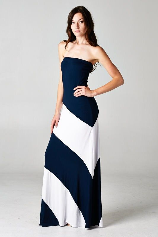 Penelope Dress in Navy | Awesome Selection of Chic Fashion Jewelry | Emma Stine Limited