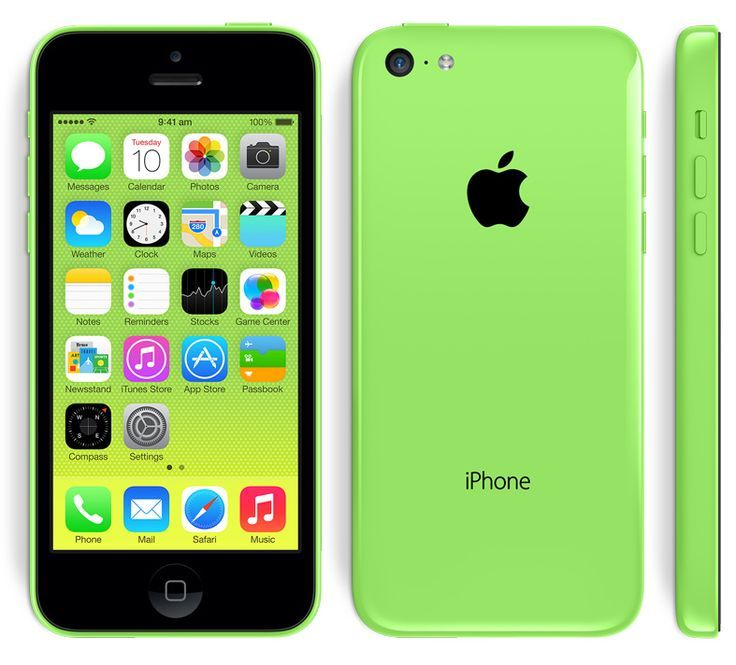 iPhone 5c Green ~ If I don't get the 5S, then it's gonna be a Green 5C