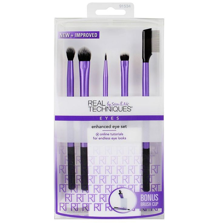 Real Techniques 5-pc. Enhanced Eye Brush Set, Multicolor