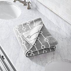 Octave Grey Bath Towel