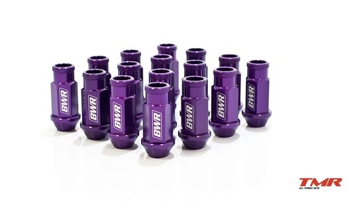 Blackworks Racing Aluminum Series Purple Lug Nut Single