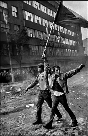 Prague Spring (by Josef Koudelka, 1968)