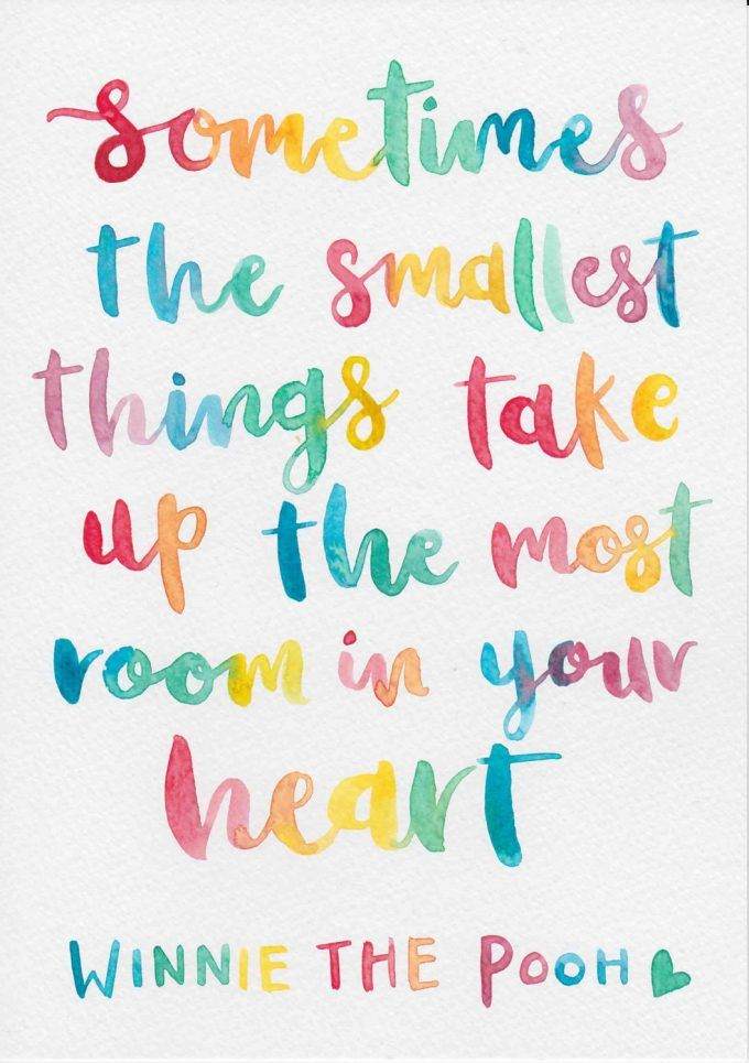 Mantra Monday // The Smallest Things