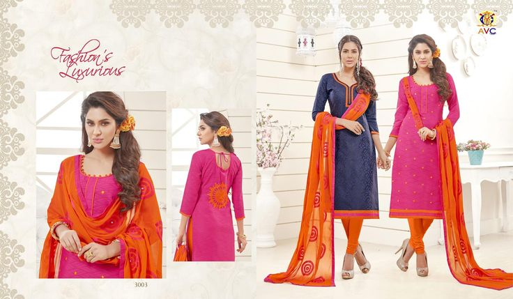 Buy Designer AVC Rang Tarang vol-3 Dress Material