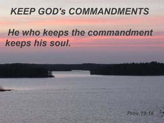 HOLY WORDS: COMMANDMENT OF GOD