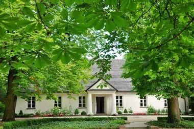 Little manor house in Zelazowa Wola - Fryderyk Chopin's birth place