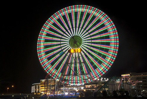 Cosmo Clock Yokohama: Favorite Places, Ferris Wheels, Clock Yokohama, Clock Ferris