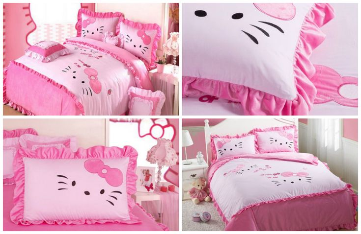 die besten 25 hello kitty zimmerdekor ideen auf pinterest. Black Bedroom Furniture Sets. Home Design Ideas