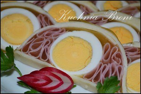 jajka z szynką w keksowej formie