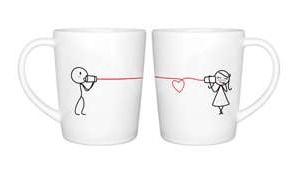 Couple Coffee Mugs. I want these :)
