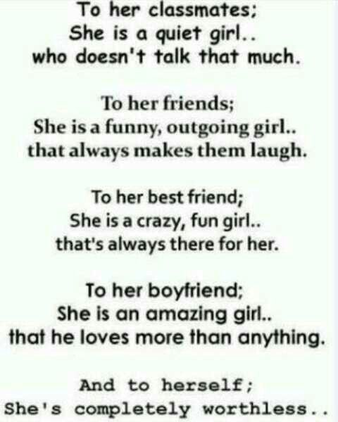 Everything but the boyfriend part cause alone forever