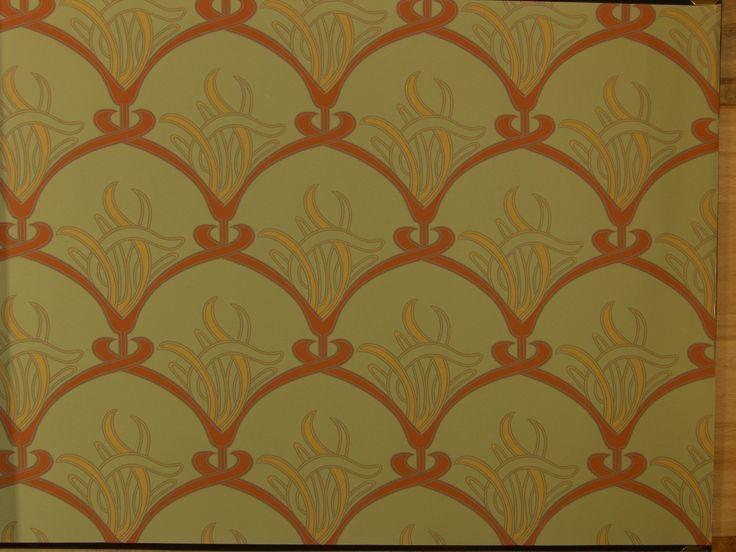 Famous Art Nouveau Wall Paper Contemporary - Wall Art Design ...