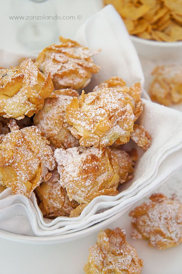 Rose del deserto, biscotti - Cornflake cookies