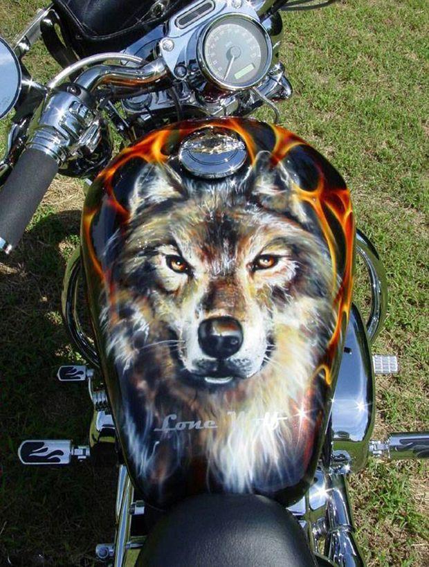 20 Mind Blowing Custom Painted Motorcycles |