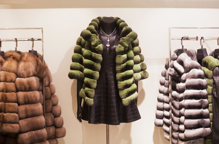 VIP room in our Nisantasi store #shopping #luxury #fur #furstyle