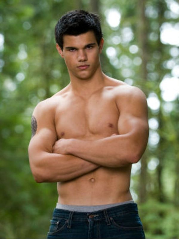 Taylor Lautner ♥ As Jacob Black in Twilight
