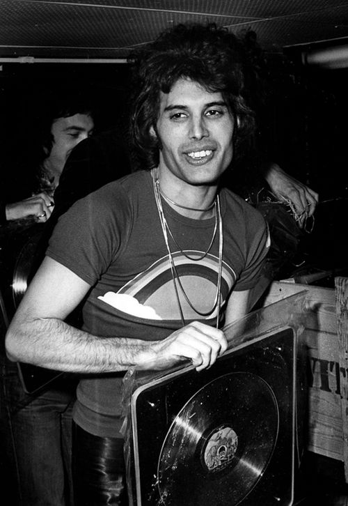 .Freddie and his gold record                                                                                                                                                     More