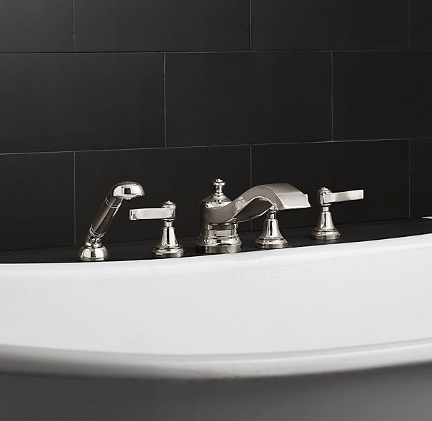 Campaign Roman Tub Handheld Shower