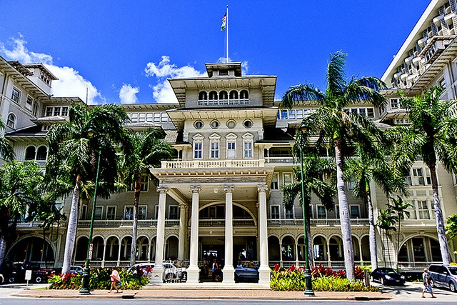 Ala Moana Surfrider Hotel - Honolulu, HI walked by here too many times to count...Miss you Hawaii!