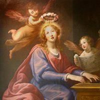Santa Cecilia  de Roma - Patrona de los Músicos - Roma en las Artes - Catholic.net -