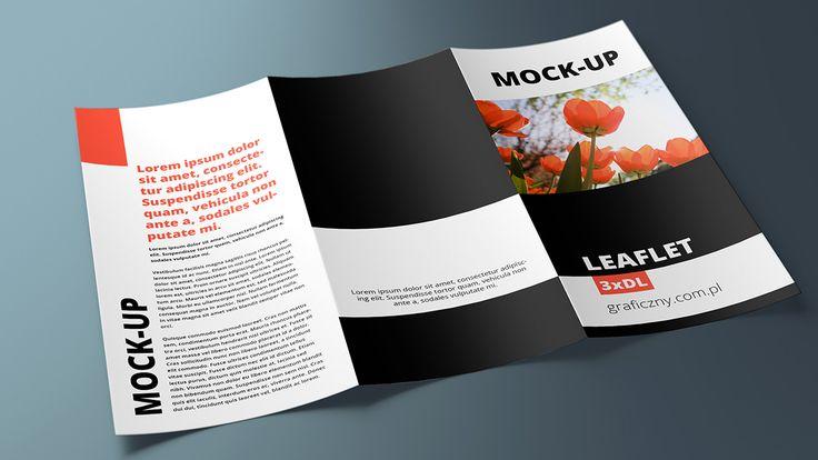 Mock-up – Ulotka / Leaflet – 3 x DL