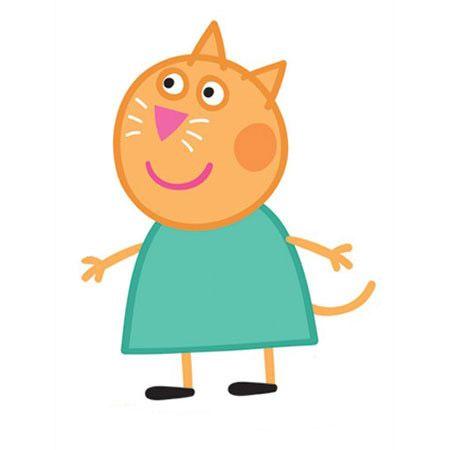 Peppa Pig, cartone animato, famiglia di Peppa Pig, Candy Gatto
