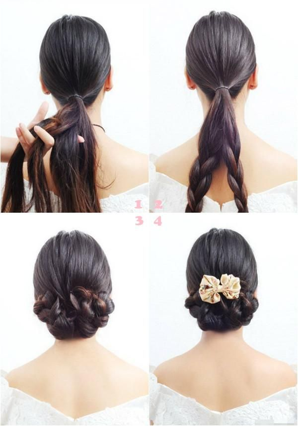 Cute Braids Updo