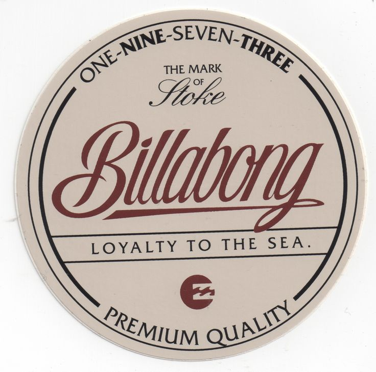 Billabong Logo Work By Nelson Nokela Via Behance
