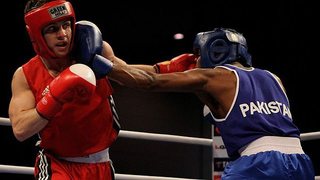 [SPORT] Boxing to decide on pros for Rio Olympics                                   Olympics boxing event. PHOTO:AFP  Boxings governing body will decide on Wednesday whether to let professional fighters into the Olympic ring from the Rio de Janeiro Games in August.  But the International Boxing Association (AIBA) will also have to answer questions about its dope testing policies when it gathers before an International Olympic Committee executive meeting in Lausanne that will be dominated by…