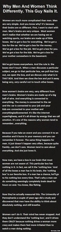 Pretty good analogy I think lol!!