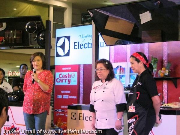 Electrolux Wokaholic Kitchen Star 2012 Hệ thống siêu thị