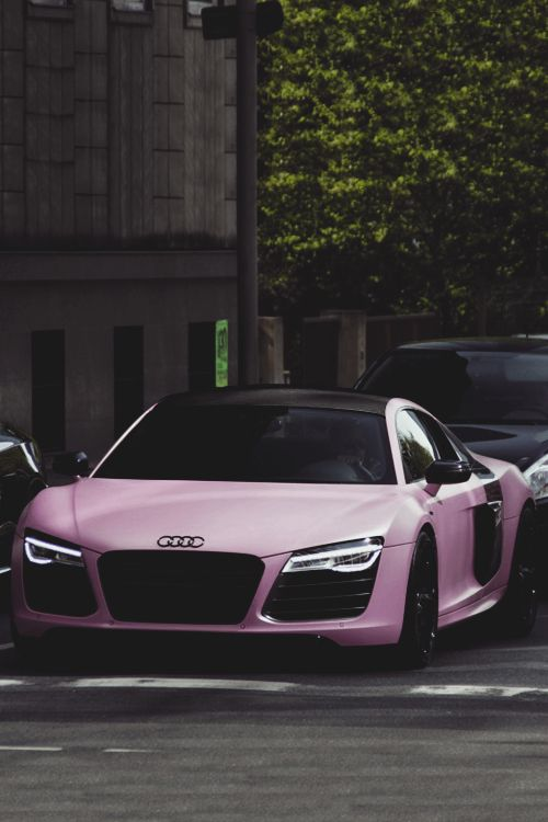 Matte Pink Audi R8 OMG! LOVE !!!LOVE! LOVE!
