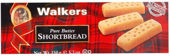 This is the absolute most wonderful, melt in your mouth shortbread..flour, sugar, and heavenly butter!!!
