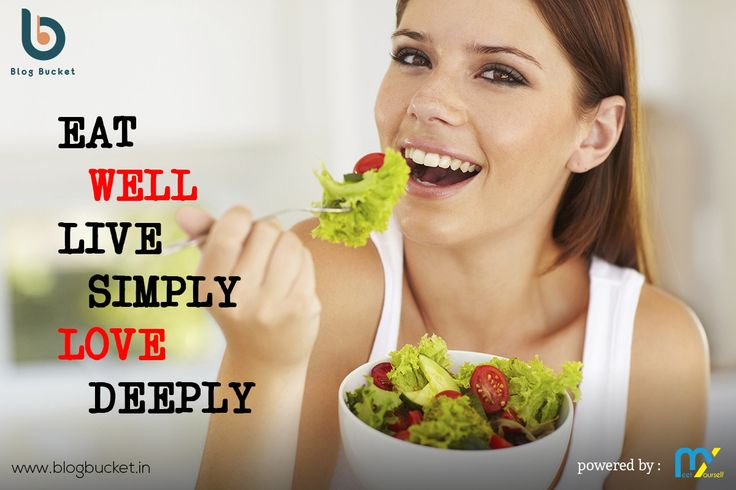 Eat Well, Live Simply, Love Deeply.Read interesting food facts on Blog Bucket