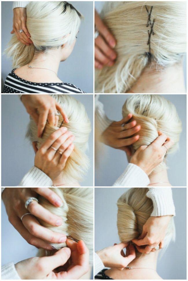 12 süße Frisurideen für mittellanges Haar #fri…