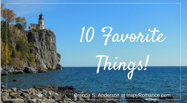 Ten Favorite Things + #Giveaway!