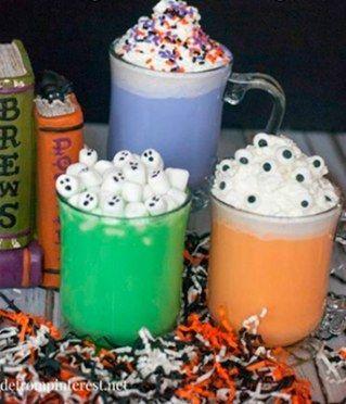 Bebidinhas divertidas (e não alcoólicas) para o Dia das Bruxas                                                                                                                                                                                 Mais