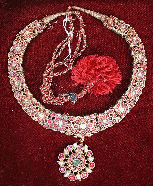 Necklace, 19th c., Jaipur, India