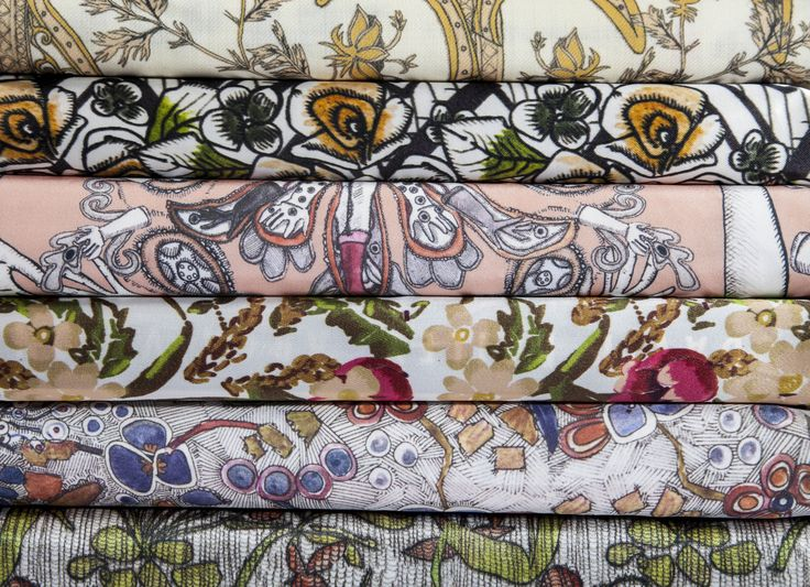 Collection of Fabric Designs (Surface Pattern Designer Sara-Jayne Martin)