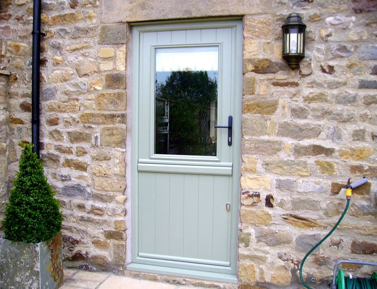 White glazed upvc stable door google search back door for Exterior back doors with glass