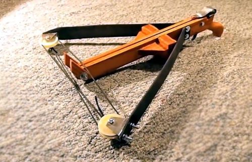 diy crossbow from daily objects | Tools | Pinterest ...