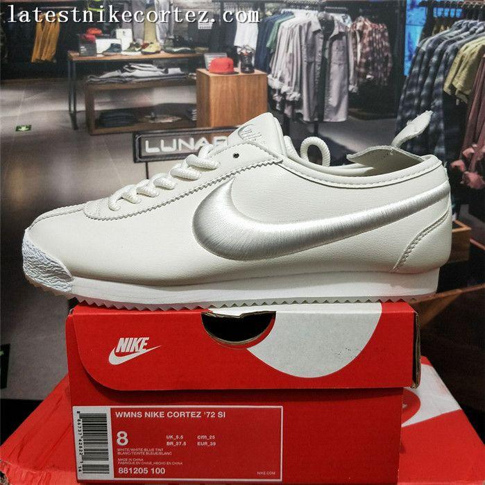 Ten cuidado Anunciante Contratar  2018 New Release Nike Classic Cortez 72 SP Leather Womens Trainers White On  Sale | Nike classic cortez, Nike, Nike classic