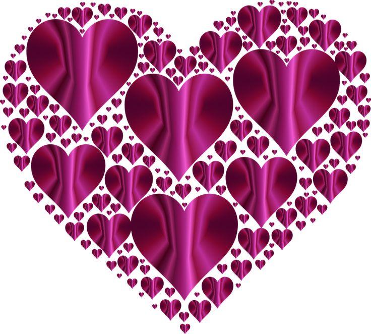 Free Image on Pixabay - Heart, Hearts 3, Love, Shape